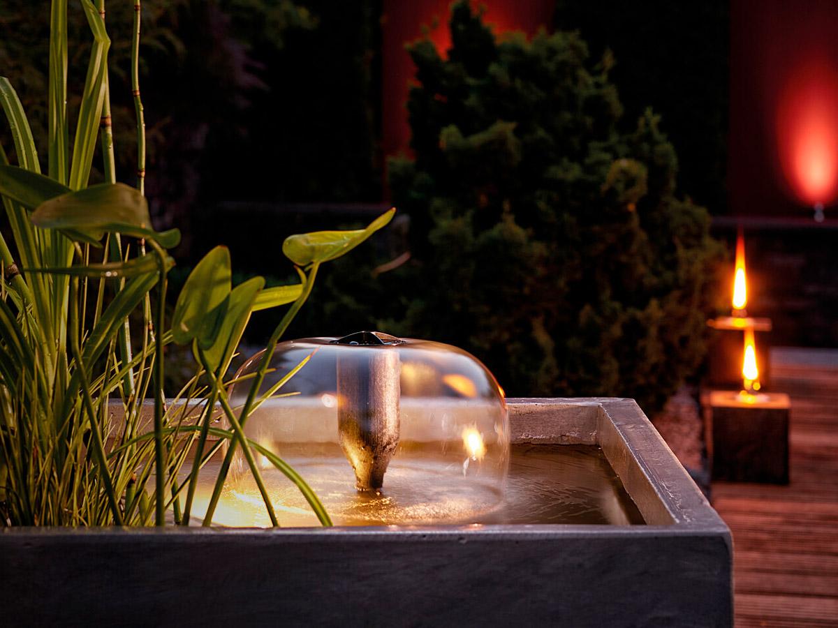 Лето, зелень, журчание и брызги воды... на Вашем балконе