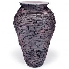 Ваза-излив из искусственного камня AquaScape Stacked Slate Urn Large