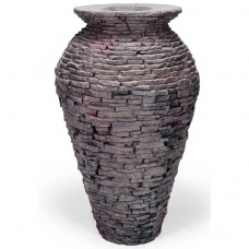 Ваза-излив из искусственного камня AquaScape Stacked Slate Urn Medium