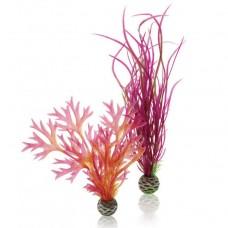 Декоративный элемент для аквариума biOrb Plant set medium red & pink