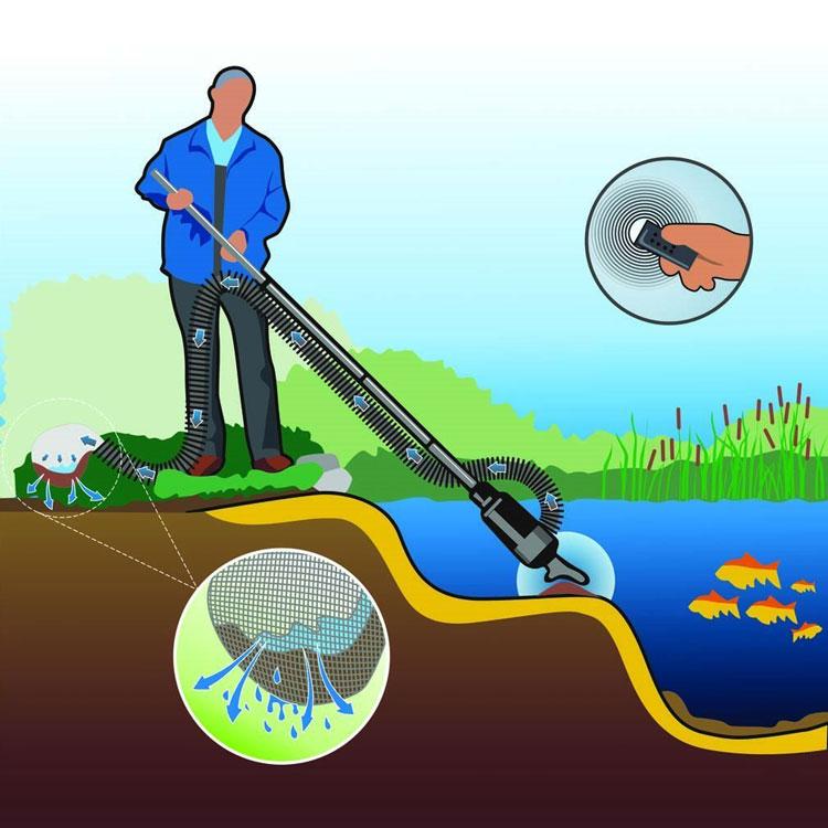 Пылесос для бассейна и пруда Jebao Pond cleaner PC-1