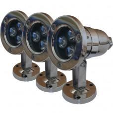 Комплект подводных светильников Pondtech 992 LED3 Full RGB Set
