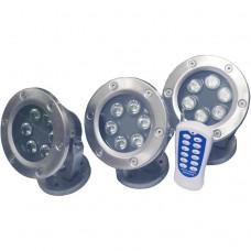 Комплект подводных светильников Pondtech 925 LED3 Full RGB Set