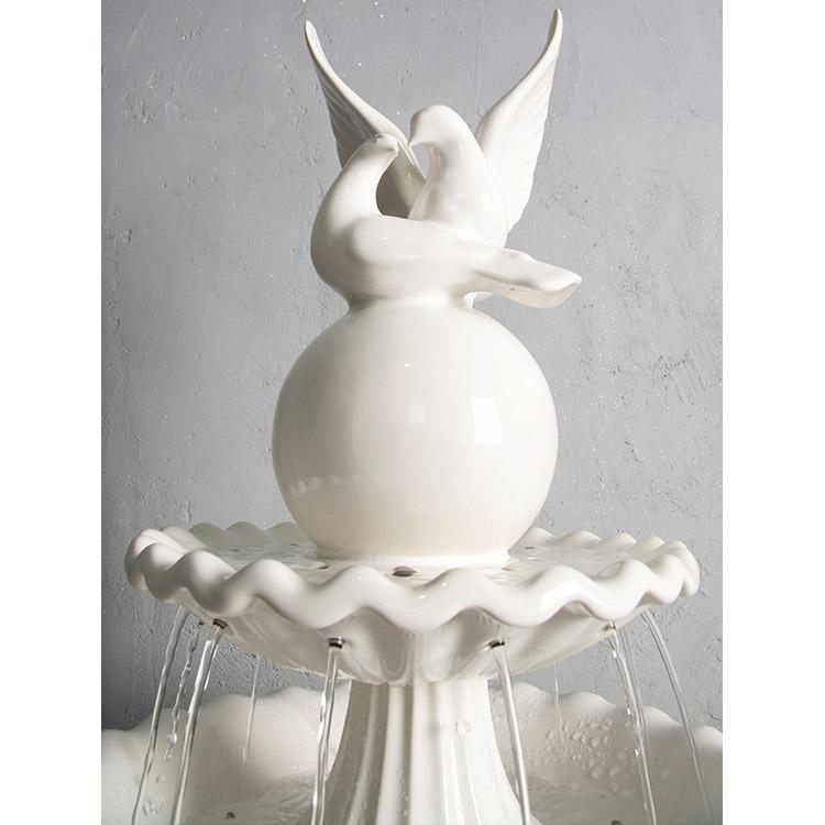 Напольный фонтан RV Два голубя