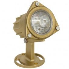 Подводный светильник Safe Rain Brass lightfixture LED RGB 9W