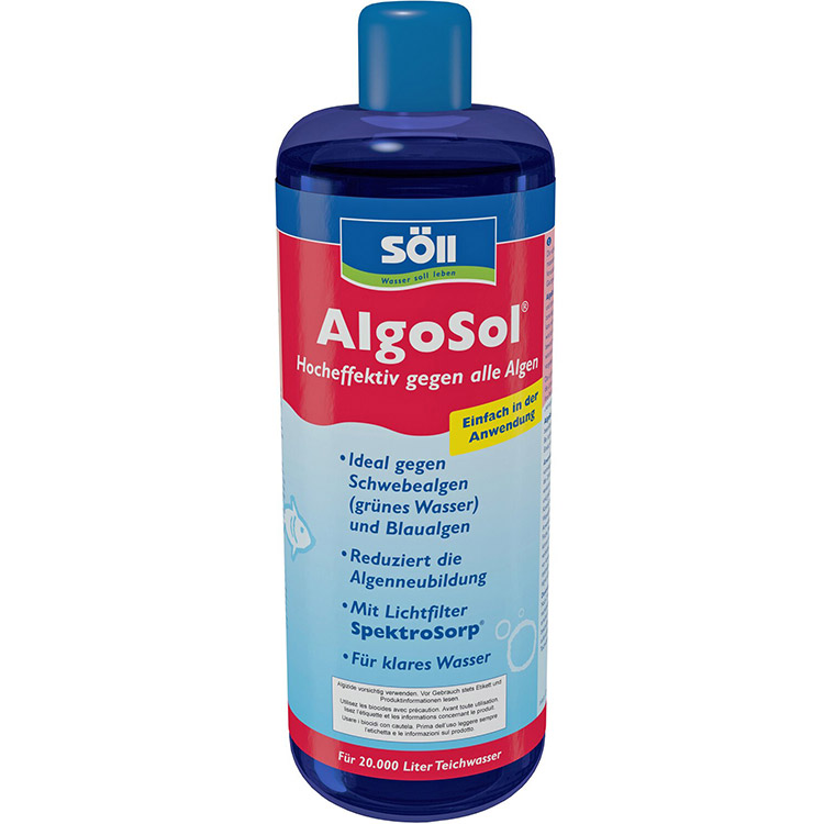 Средство от водорослей Söll AlgoSol 1 l