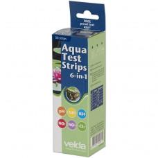 Экспресс-тесты воды Velda Aqua Test Strips 6 in 1